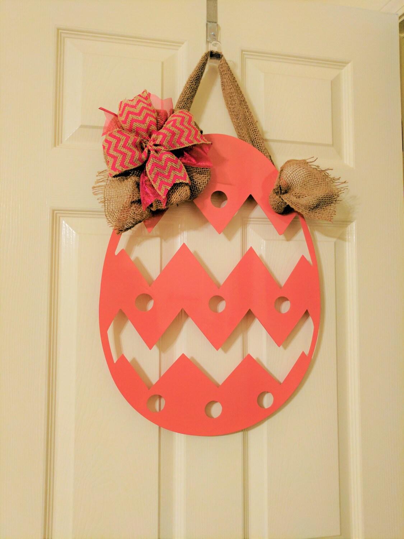 Captivating Easter Wreath, Easter Decor, Easter Wall Hanging, Easter Egg, Easter Egg Door  Hanger, Metal Art, Mailbox Sign, Easter Bunny, Easter Decor