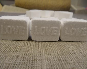 DIY dishwasher tablets, eco-friendly, dishwashing tabs,dishwasher detergent tabs, chemical free, handmade 10 tbs.