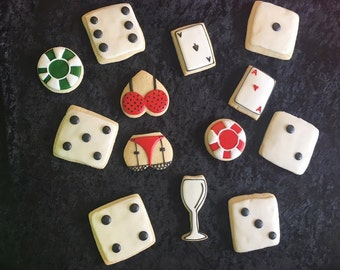 Casino Cookies - 1 Dozen