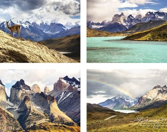"Patagonia Photo Set | ""Torres Del Paine"" 