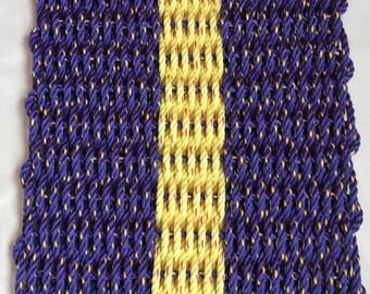Mat Purple/ Yellow Combination