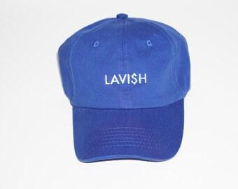"""Lavish Dad Hat """"Royal"""""""