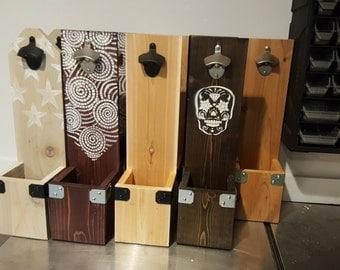 Ceder Plank Bottle Openers