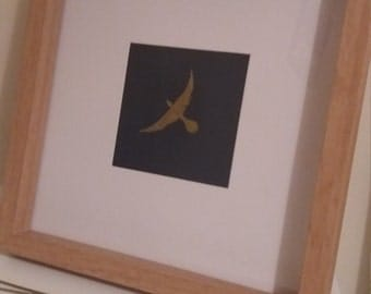 But what if you fly... original framed painting