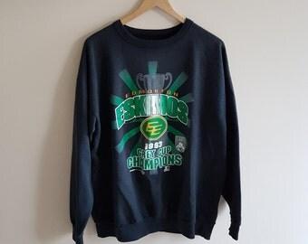 Edmonton Eskimos 1993 grey cup Champs, vintage sweatshirt, 90s football