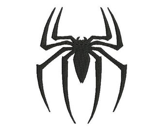 6 sizes - Spider Embroidery Design, Spiderman Embroidery Design, Spiderman Emblem Embroidery Design, Instant Download, Machine Embroidery