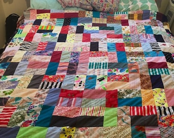 Family/adult patchwork quilt