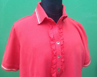 90s t-shirts | Krizia shirt | Vintage t-shirts | Coral t-shirts | Vintage Krizia | Krizia Vintage