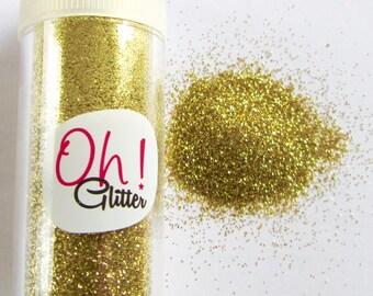 Fine glitter glitter gold in salt