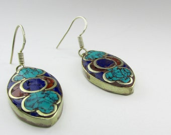 Tibetan Earrings - Variety of Shapes