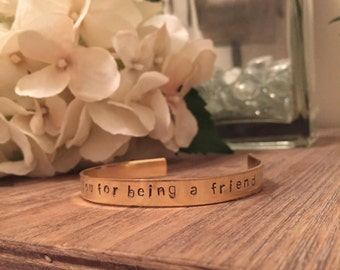 Thank You For Being a Friend, Golden Girls Bracelet, Golden Girls, Friendship, BFF Gifts, Rose, Blanche, Dorothy, Sophia