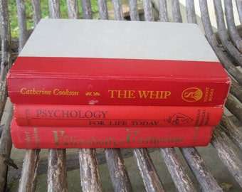 Red books lot  Elizabeth and Catherine , the Whip  and Psycholgy for life today  FREE SHIPPING in u s a