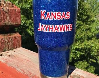 Kansas Jayhawks Tumbler