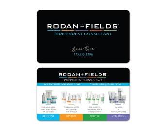 Rodan + Fields Business Cards