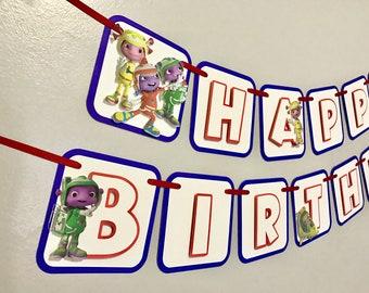 Floogals Birthday Banner / Floogals Birthday / Floogals Party Decor / Floogals Birthday Party
