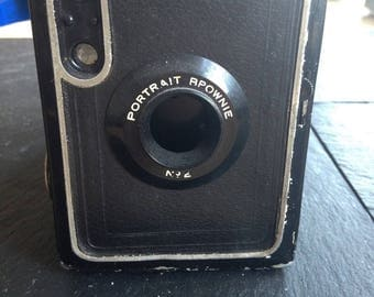 Vintage Kodak Portrait Brownie No.2 [120]