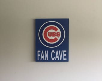 chicago cubs fan | etsy
