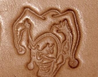 Joker (Facing Left) Leather Stamping Tool