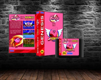 Kirby in Sonic 1 - Enemy Absorbing Through Green Hills and Beyond - GEN