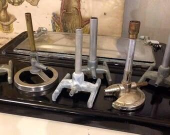 Vintage Bunsen Burners / Vintage Laboratory, Chemistry Equipment / For Science!