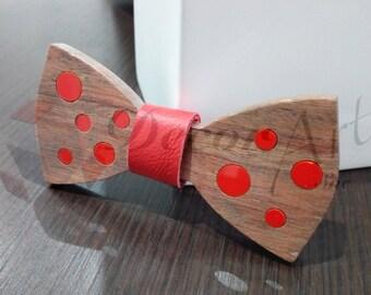 Papillon red ball (wood kevazingo)