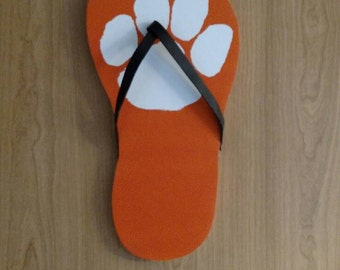 Clemson Tigers Flip Flop