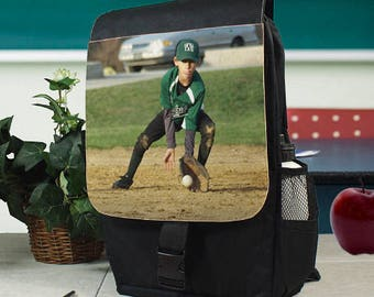 Personalized Picture Perfect Photo Backpack Custom Name Gift