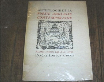 Poetry Anthology French and English