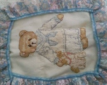 Nautical Teddy Bear Tapestry cross-stitch
