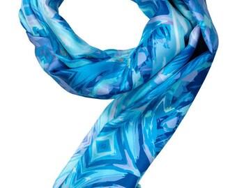 100% Twill Silk Scarf Item# 264216