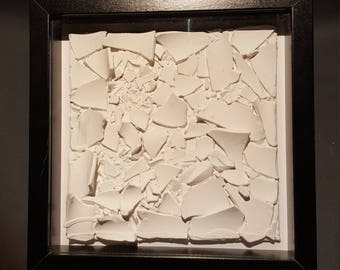 Breaking Glass - Artwork by Jez David Boger