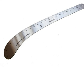 "Vary Form Curve Rule 24""  French Curve - (Made by Fairgate)  Made in the U.S.A."