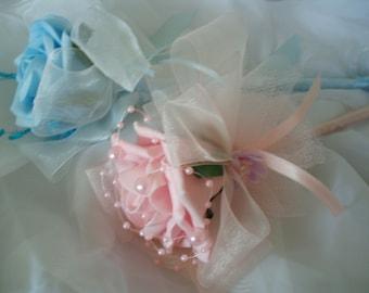Flower wand,Rose flower wand,Flower wand for party,Wedding flower wand,Pink flower wand,,white flowers wand, girls flowers wand