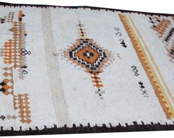 Decorative handmade MOROCCAN wool carpet size 365cmx255cm
