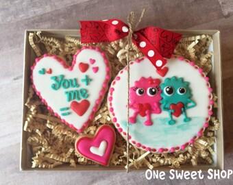 You + Me = Love Cookies - Individual