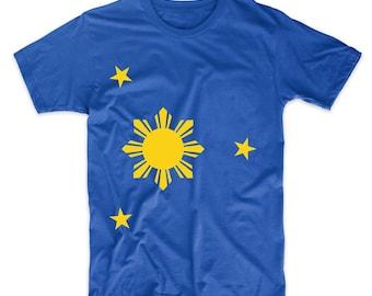Filipino Flag Three Stars And A Sun Philippines T-Shirt