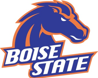 TODAY SALE 20% Boise State Broncos Logos SVG - Vector Design  Svg, Eps, Dxf,  Jpeg Format for Cricut and Silhouette, Digital download