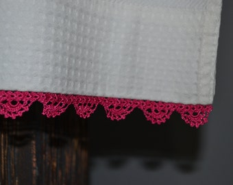 Crochet Bath Towel