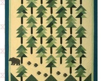 Kootenai Forest Quilt Pattern