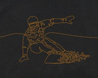 Men's Snowboarding T-Shirt, Snowboarding T-Shirt, Men's T-Shirt, Gift for Snowboarder, Snowboarding Gear, Graphic T-Shirts, Cool T-Shirts