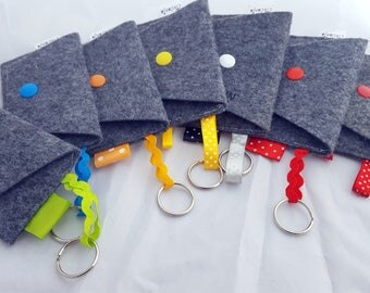 personalized case/ felt coin purse/ key holder/ felt key holder/ mini purse/ felt personalized key holder/ felt coin purse/ purse for coin