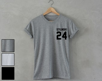 Stilinski Shirt Stilinski 24 Shirt teen wolf shirt Stilinski T-Shirt Stilinski 24 T-Shirt unisex S M L XL