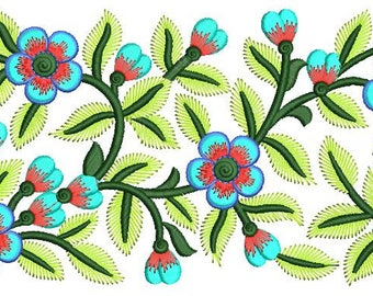 lace embroidery design file,INSTANT DOWNLOAD FILE,border embroidery design,lace & border,paadar club