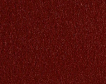 Ruby Red Craft Felt Fabric - Kunin Felt - Burgandy Crafting Felt