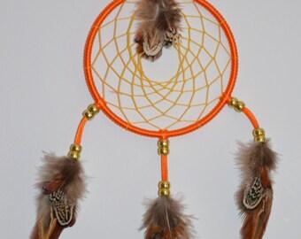 Orange Dreamcatcher