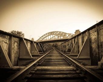 Boston Bridges - Fine Art Metallic Print