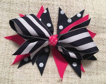 Stacked bow!!! Many different color combinations!!