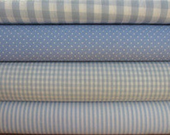Fabric package in light blue article 029