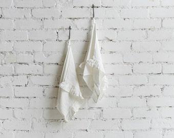 Pure Linen Kitchen towel Dish towel Tea towel set of 2 SHIPPING WORLDWIDE