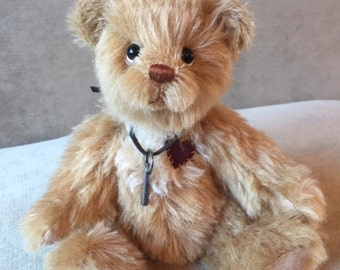Sawyer -  artist made, hand-made, mohair, teddy bear, collectible, one-of-a-kind